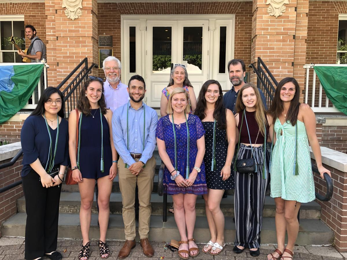 Neuroscience Honors students May 2019